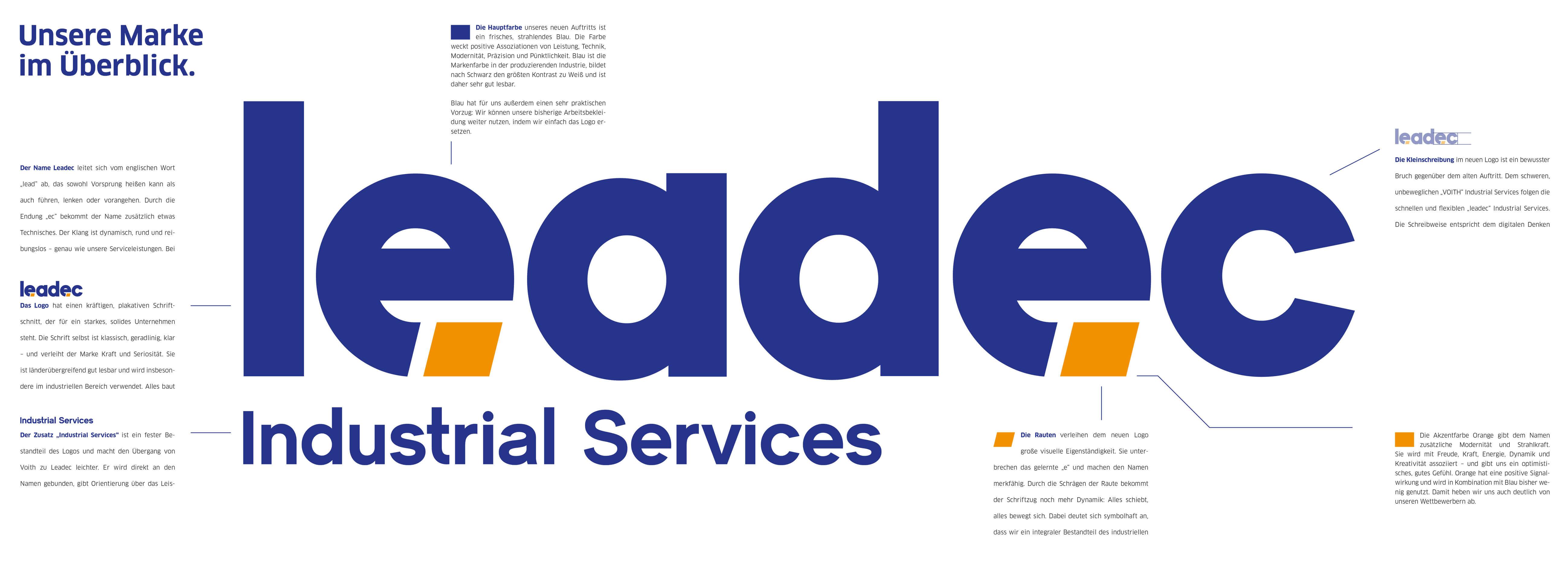 KloseDetering Werbeagentur Markenstrategie für leadec