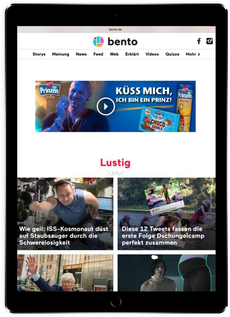 KloseDetering Werbeagentur Online Banner für Prinzen Rolle